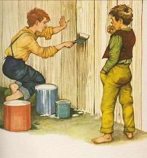 Tom Sawyer pintando 3
